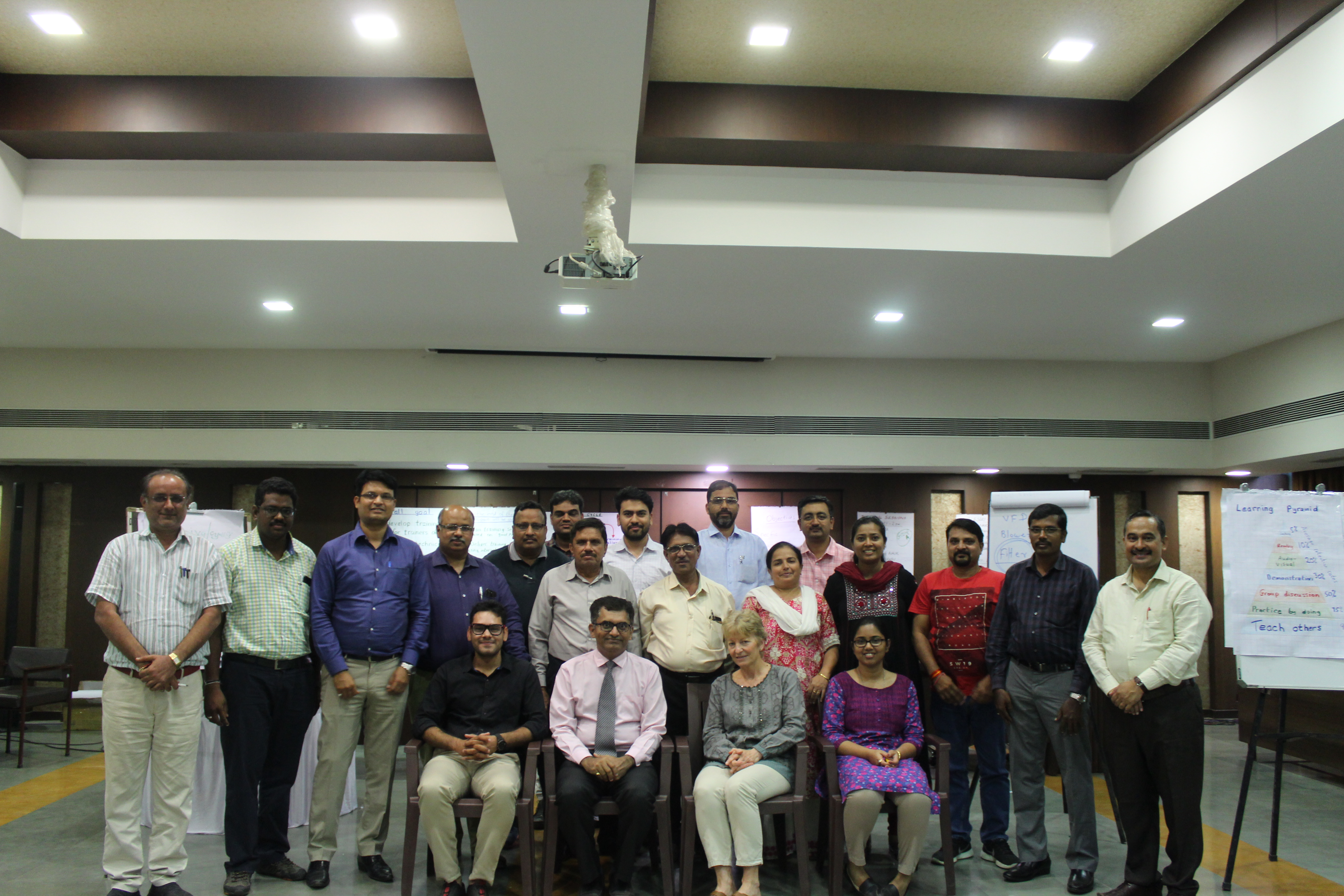 Training of Trainers Programme: Skills development for
